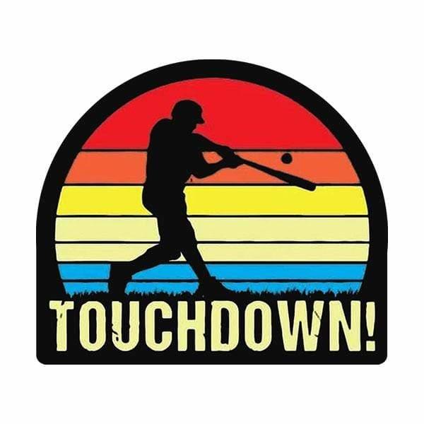 BustedTees: Touchdown Baseball Mug