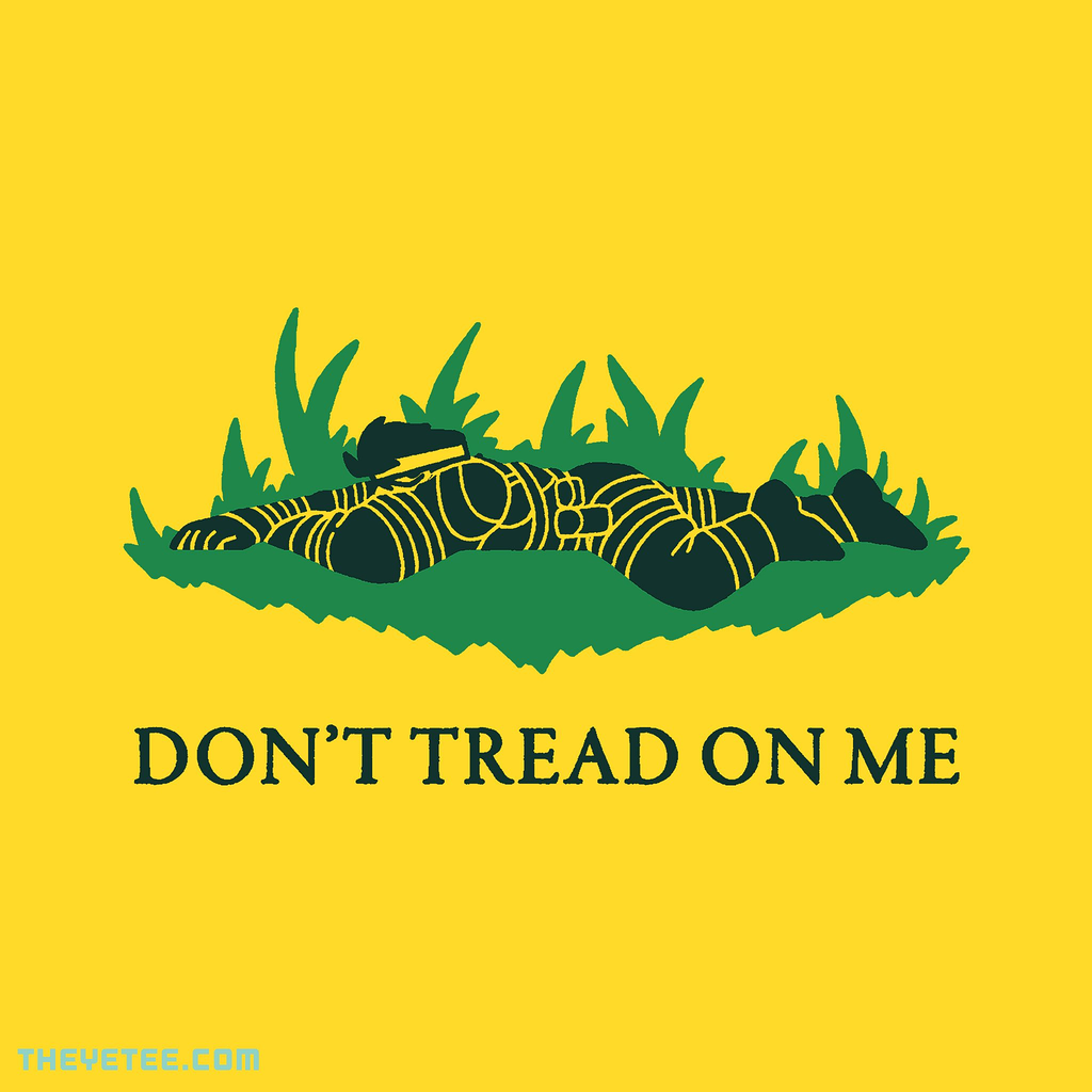 The Yetee: Don't Tread On Me, Colonel