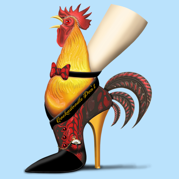 NeatoShop: Cockadoodle Don't Rooster Shoe