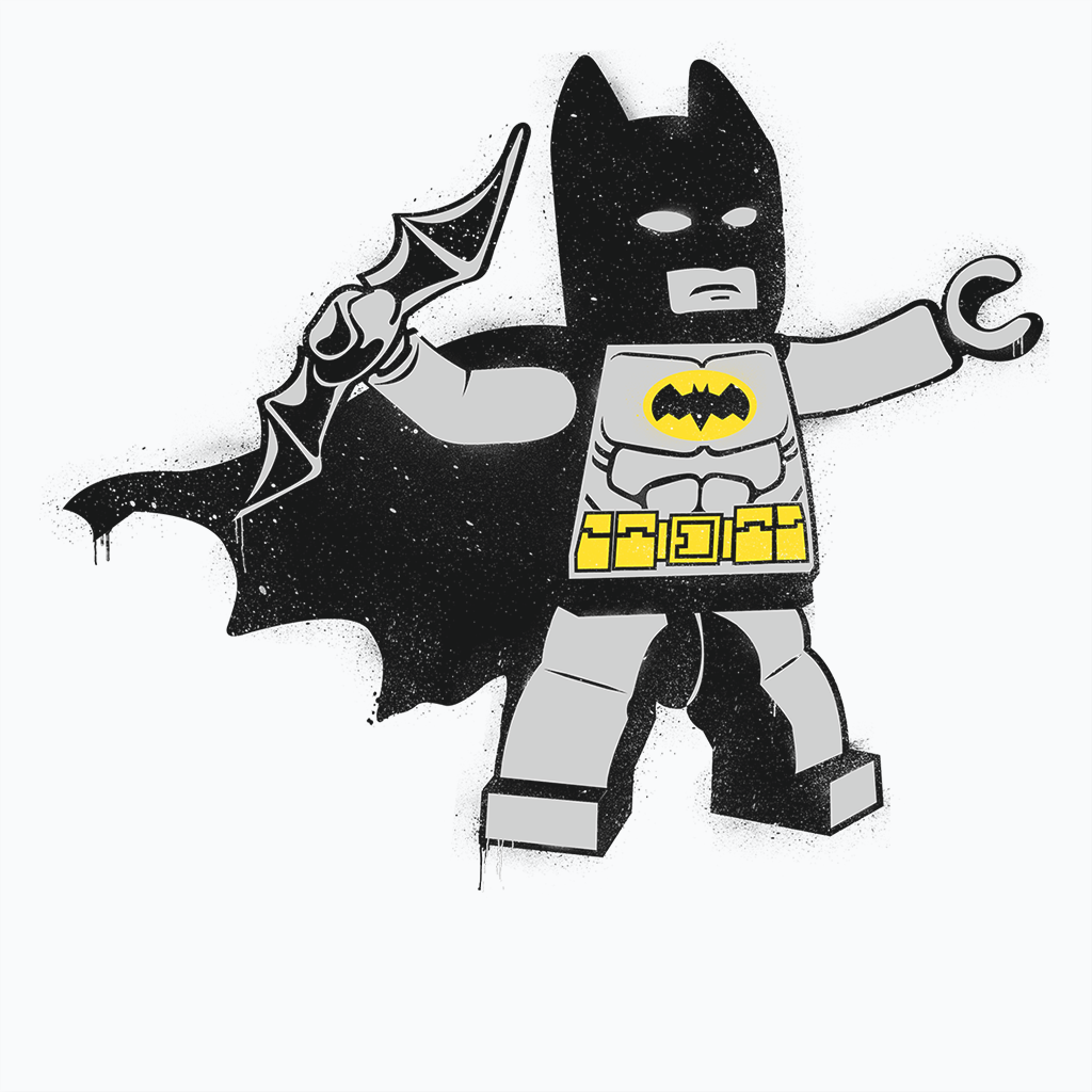 Pop-Up Tee: Batsy Lego
