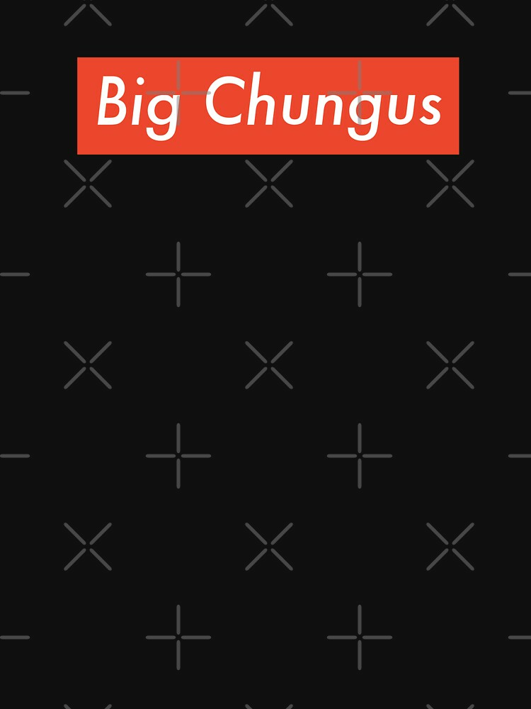 RedBubble: BIG CHUNGUS RED BOX LOGO