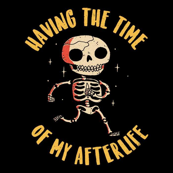 Once Upon a Tee: The Time of My Afterlife