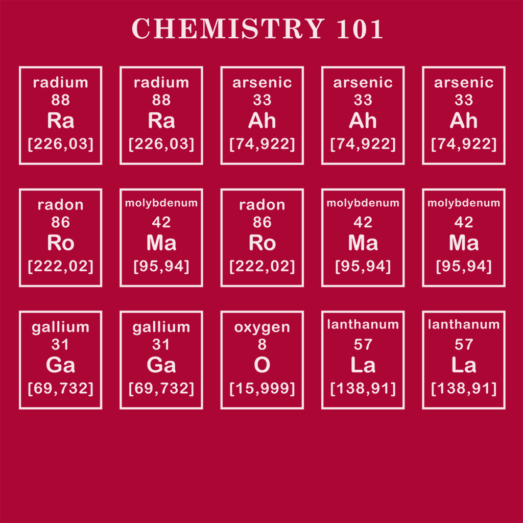 Pop-Up Tee: Chemistry Lesson