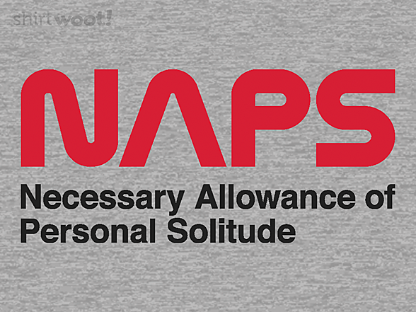 Woot!: Necessary Allowance of Personal Solitude