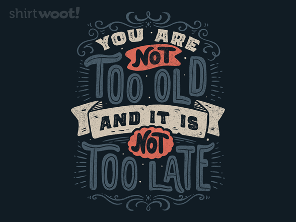 Woot!: It Is Not Too Late