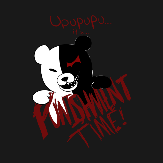 TeePublic: Dangan Ronpa: Monokuma's Punishment