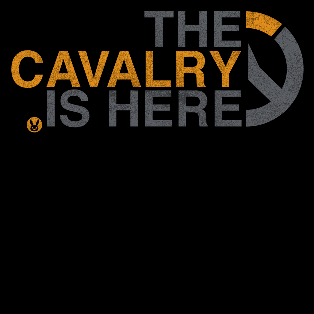 Pop-Up Tee: Cavalry