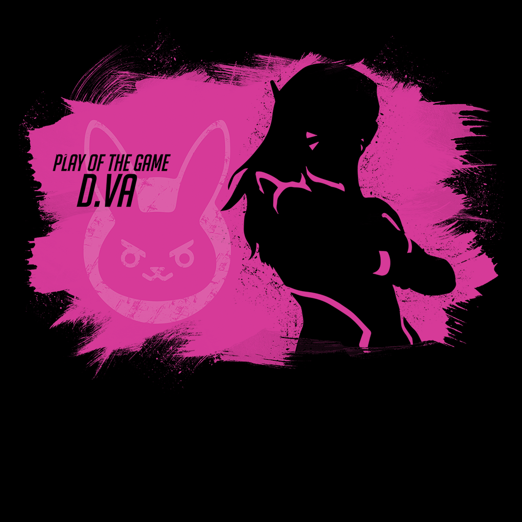 Pop-Up Tee: Play of the Game D.Va