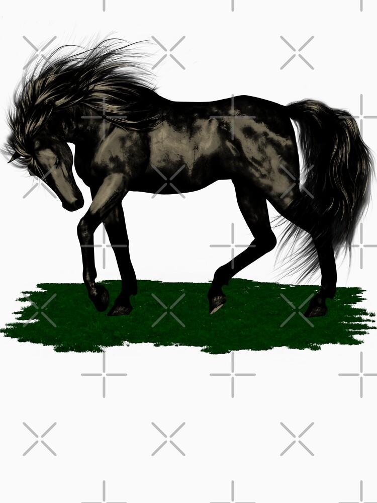 RedBubble: Ebony .. black stallion