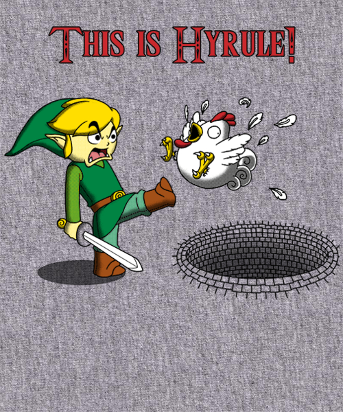 Qwertee: This is Hyrule!