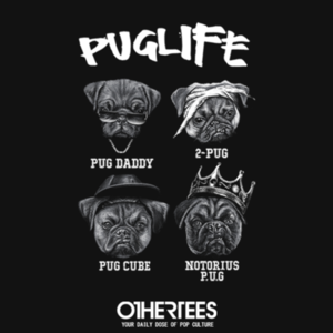 OtherTees: Pug Life