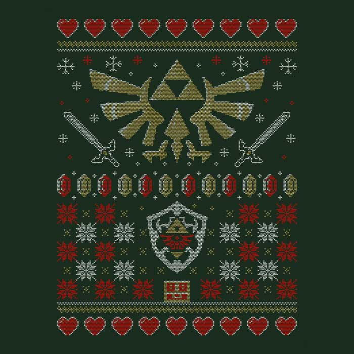 Once Upon a Tee: Hylian Christmas Sweater