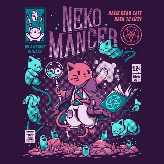 Once Upon a Tee: Nekomancer
