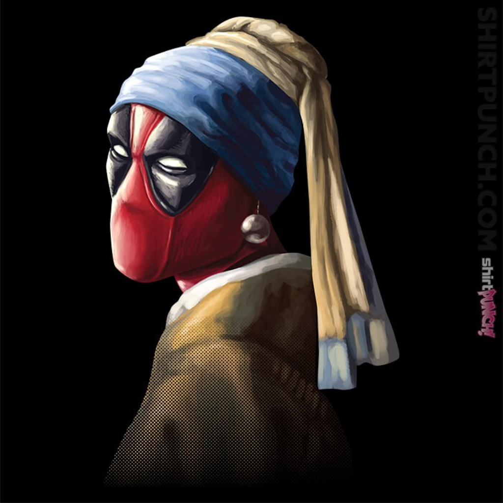 ShirtPunch: Hero With A Pearl Earring