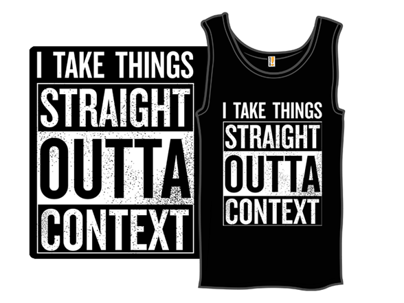 Woot!: Straight Outta Context