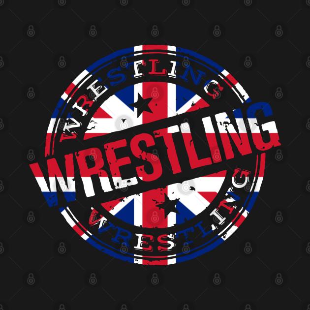 TeePublic: Wrestling United Kingdom