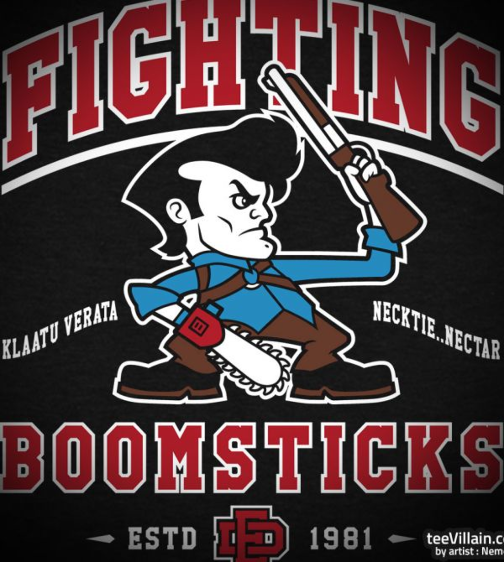 teeVillain: Fighting Boomsticks