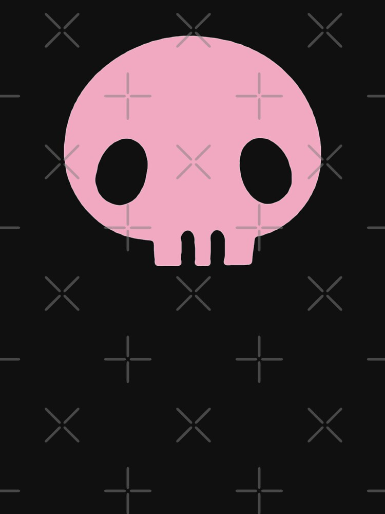 RedBubble: single kuromi skull