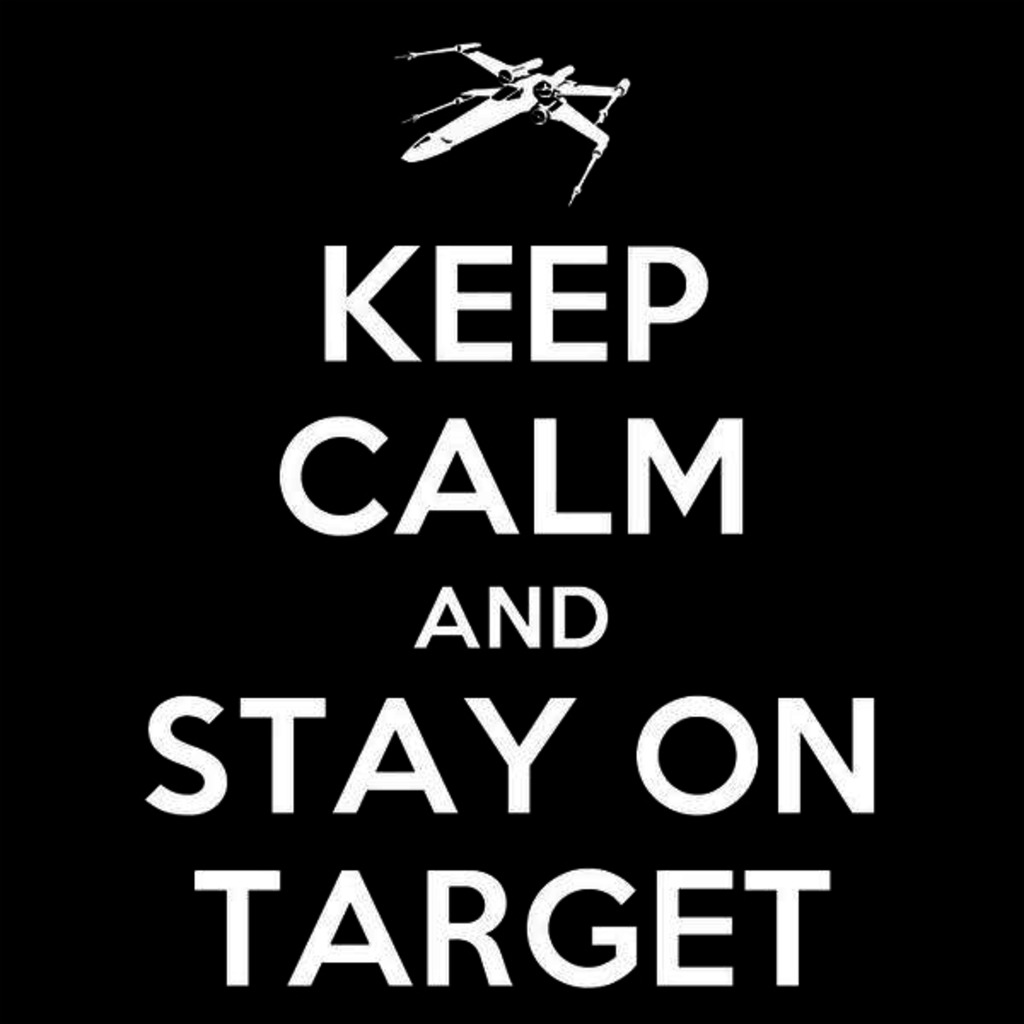 Tee11: Keep Calm Stay On Target