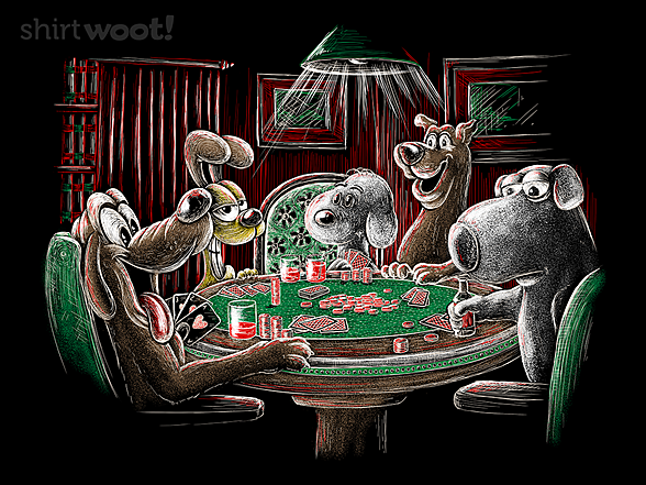 Woot!: Dogs Playing Poker