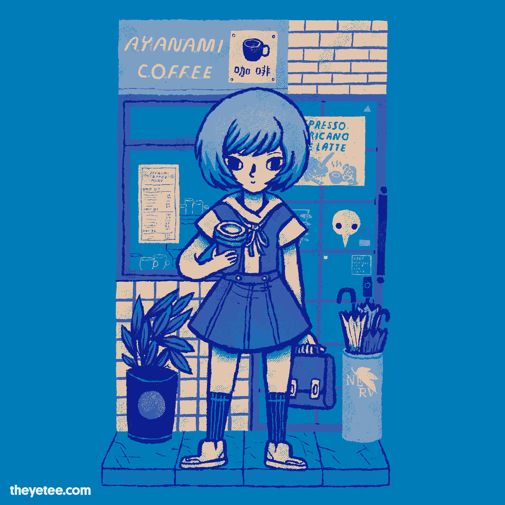 The Yetee: ayanami coffee