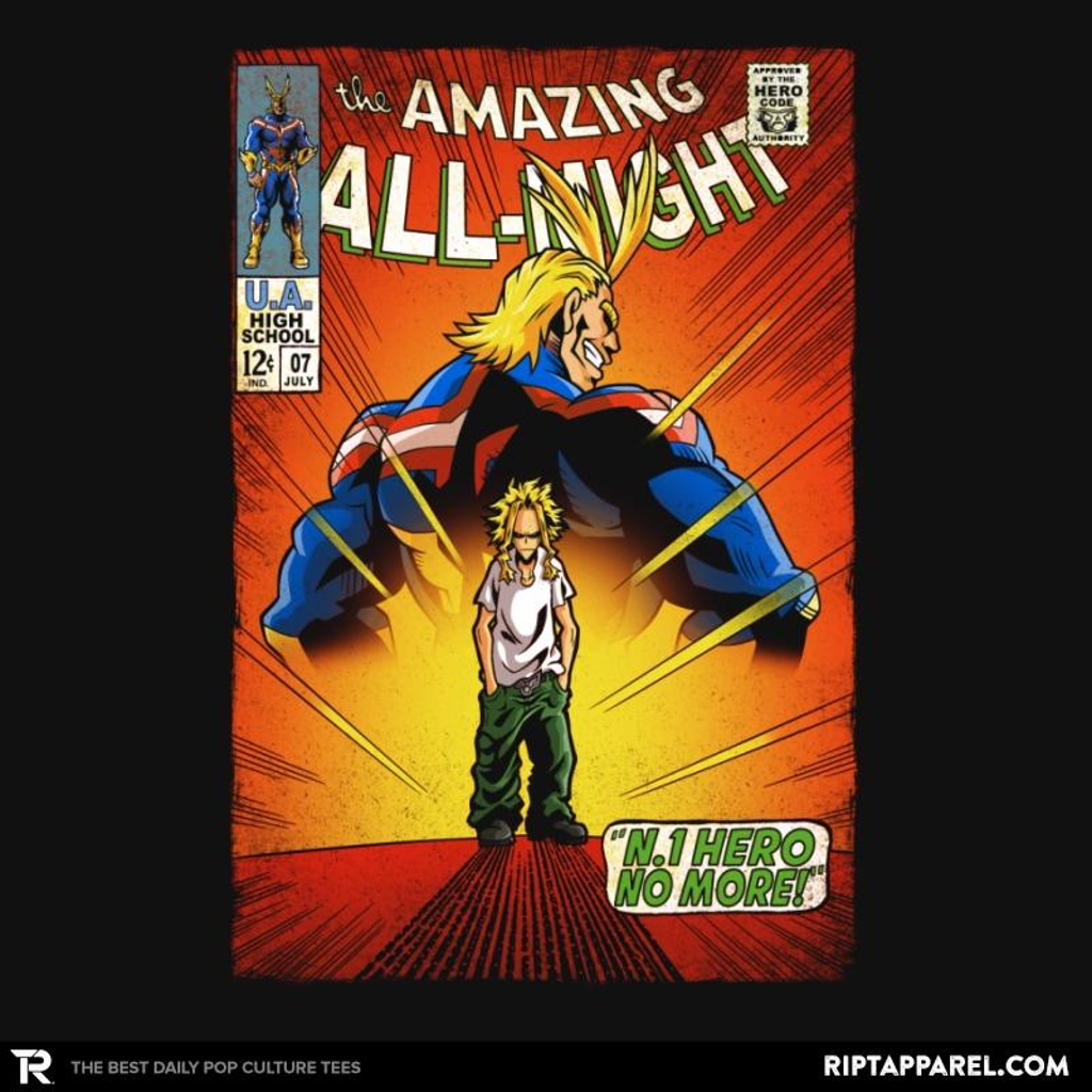 Ript: The Amazing All Might