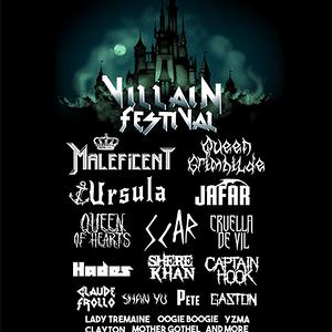 Qwertee: Villain festival