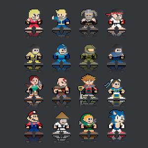 NeatoShop: Pixel games