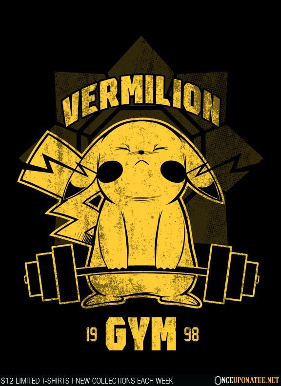 Once Upon a Tee: Vermillion Gym