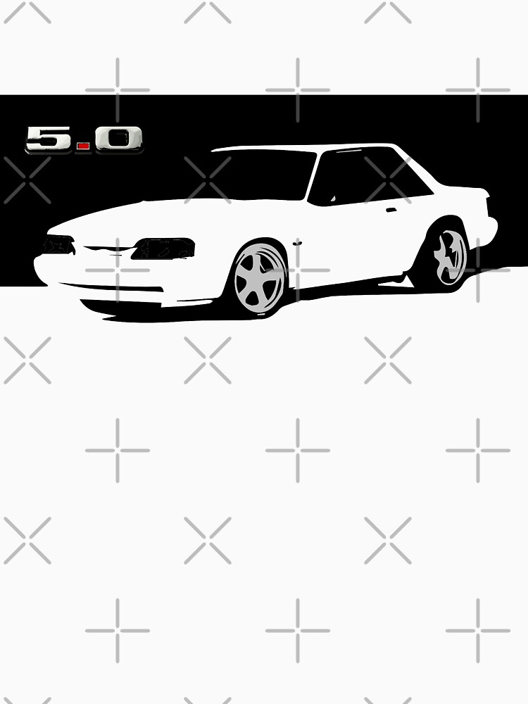 RedBubble: 1990 Ford Mustang LX 5.0 Foxbody