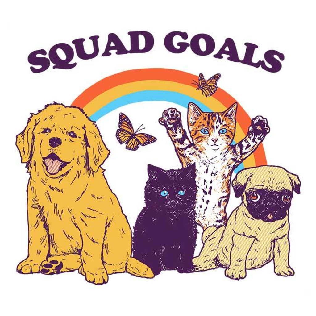 Once Upon a Tee: Pet Squad Goals