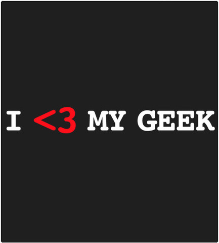 Shirt Battle: I Love My Geek
