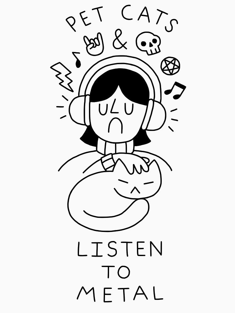 RedBubble: Pet Cats & Listen To Metal