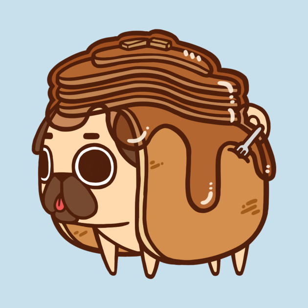 TeePublic: Pancakes Puglie T-Shirt