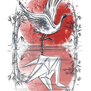 Qwertee: Mirror of water
