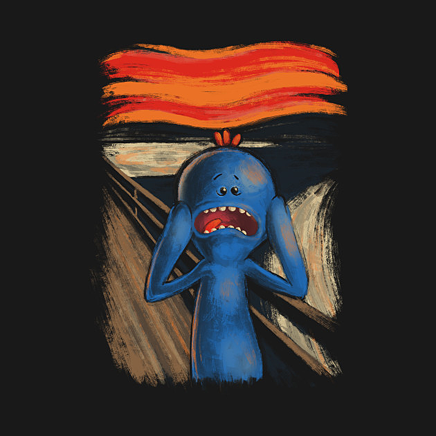 TeePublic: Scream of pain