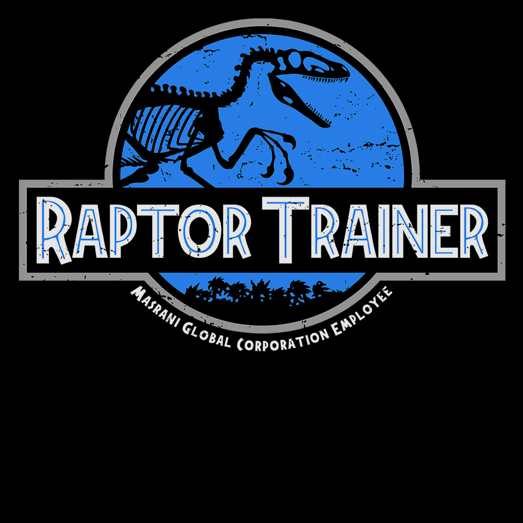 Pop-Up Tee: Raptor Trainer