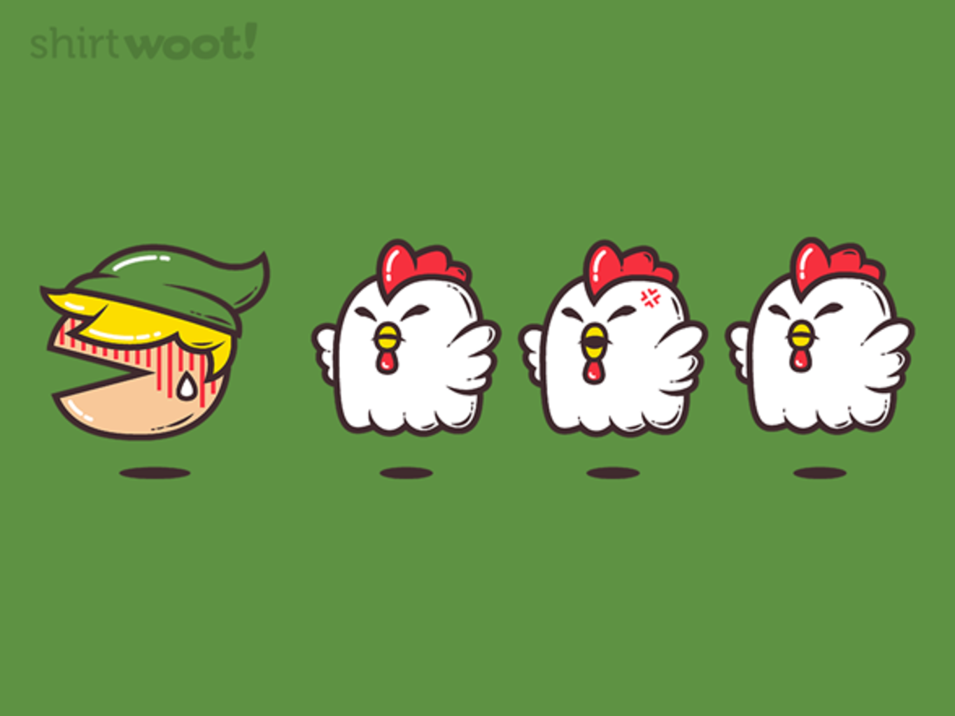 Woot!: Chased By Chickens - $8.00 + $5 standard shipping