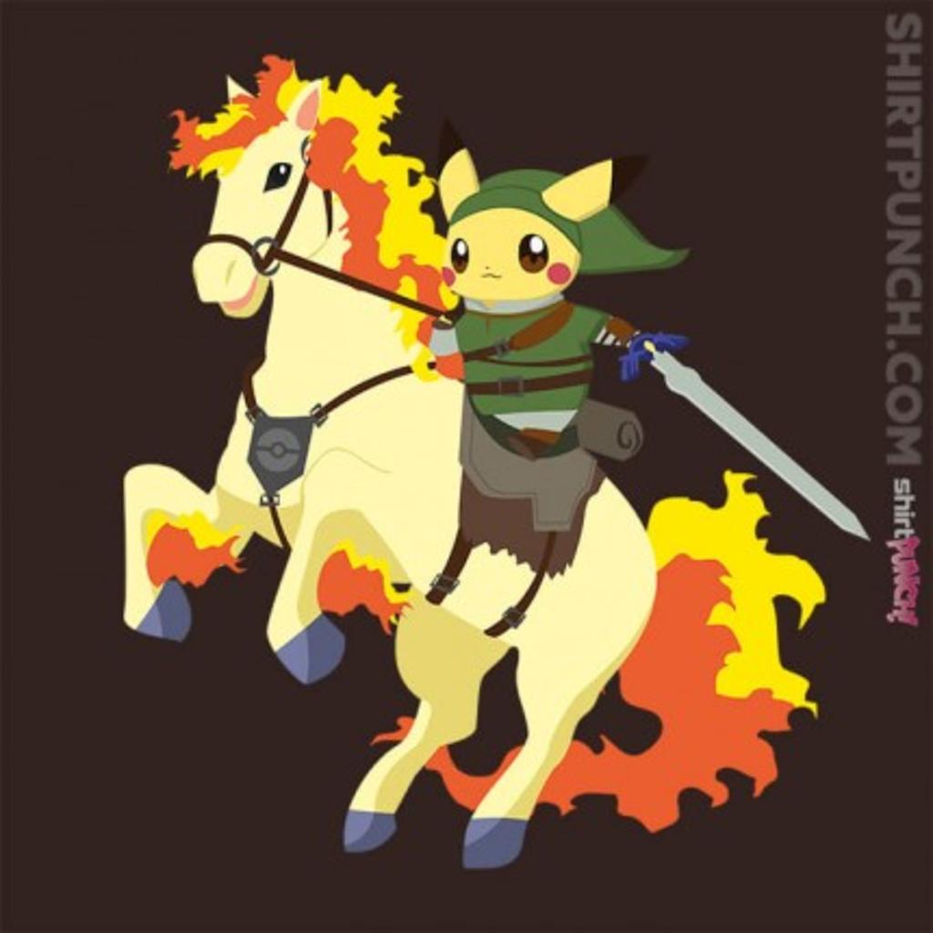 ShirtPunch: Legend Of Pika