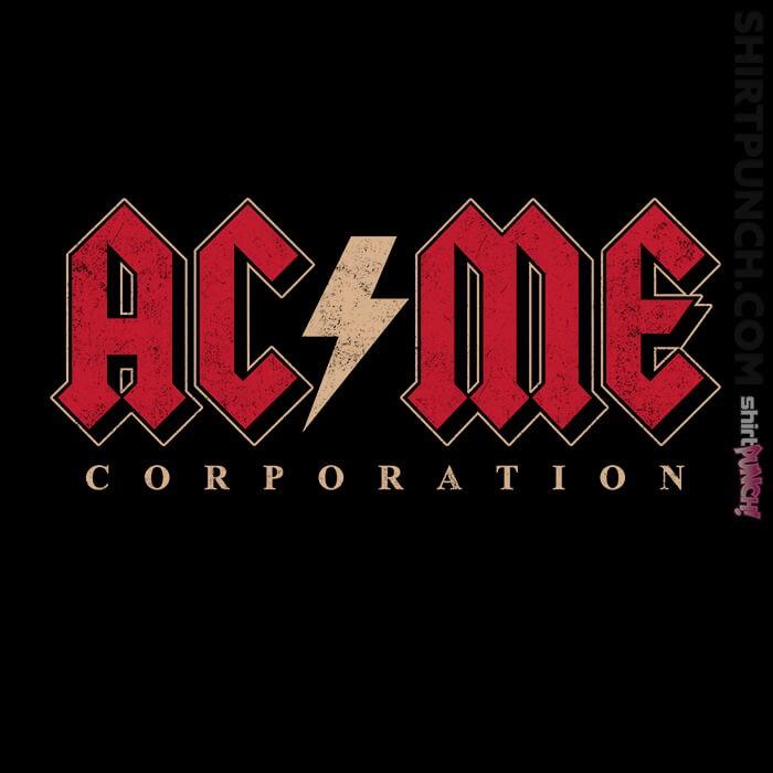 ShirtPunch: ACME Rock Corp
