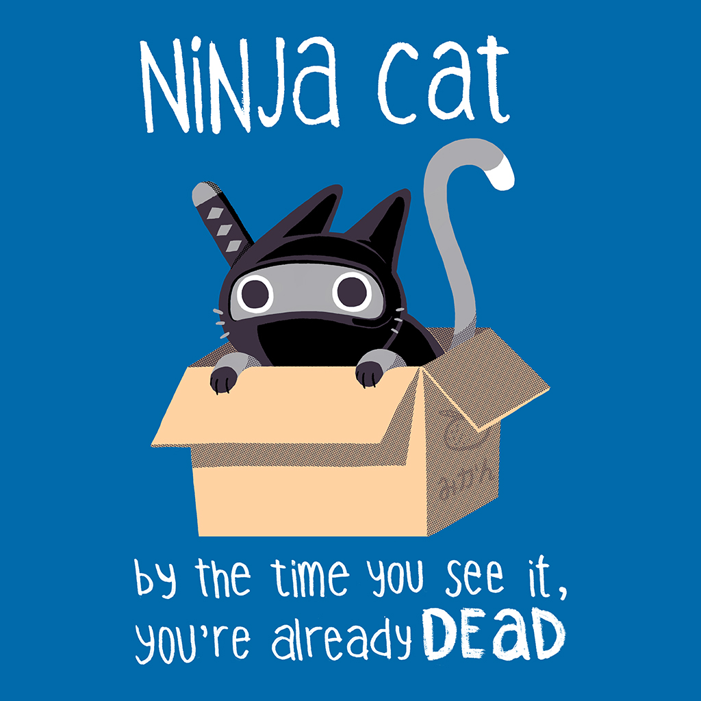 TeeTee: Ninja cat