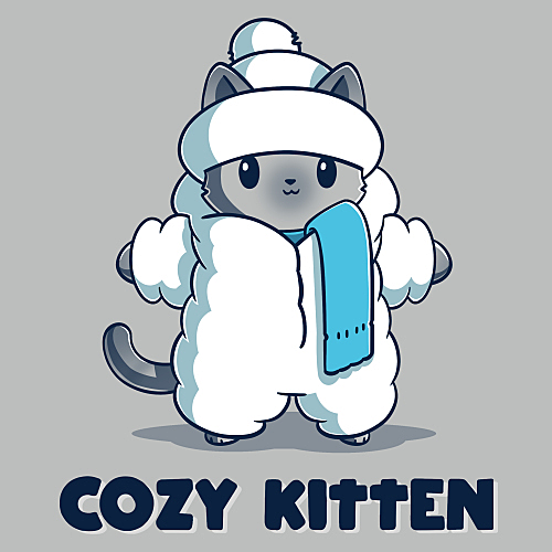 TeeTurtle: Cozy Kitten