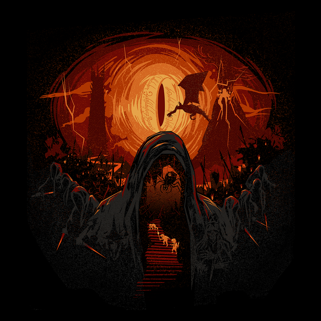 Pop-Up Tee: 2.5 Hobbit Nightmare