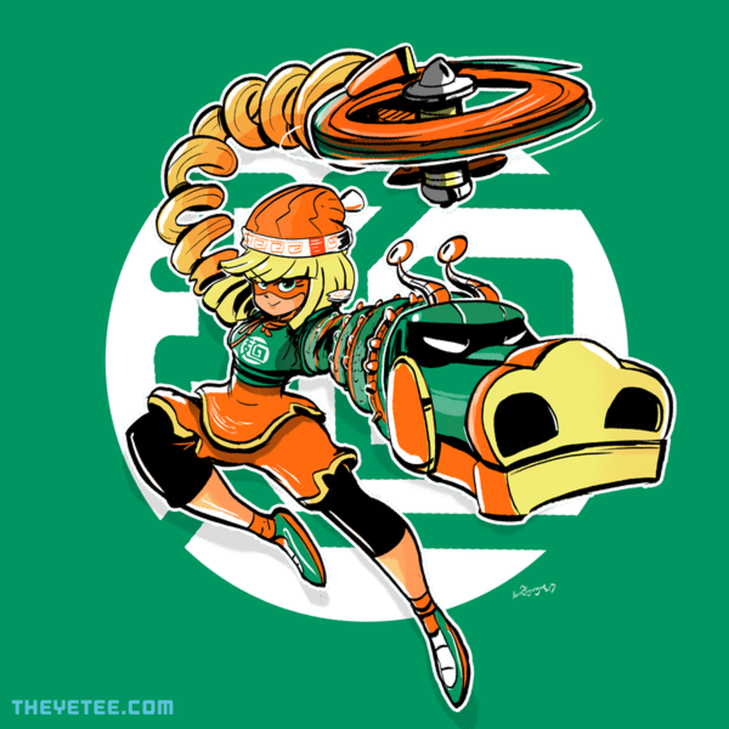 The Yetee: The Ramen Bomber