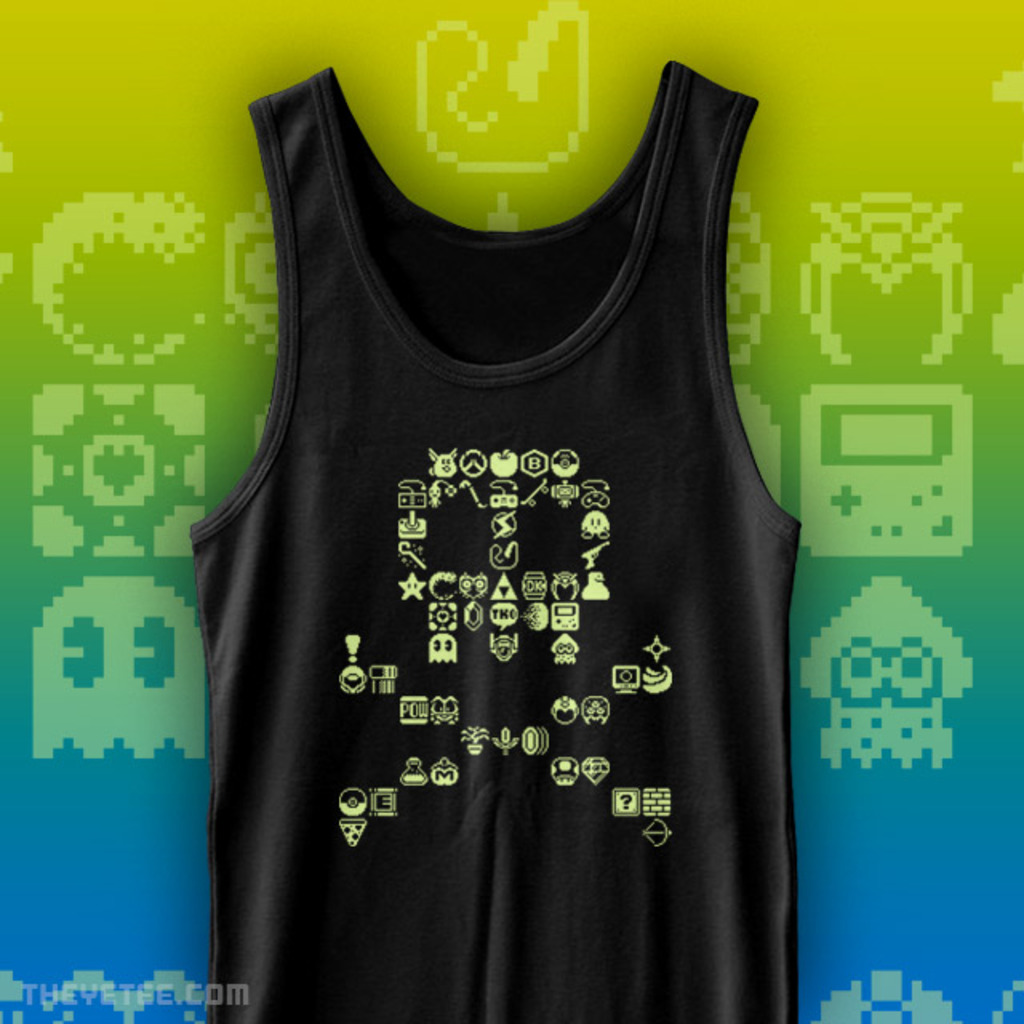 The Yetee: SkullPix Tank Top