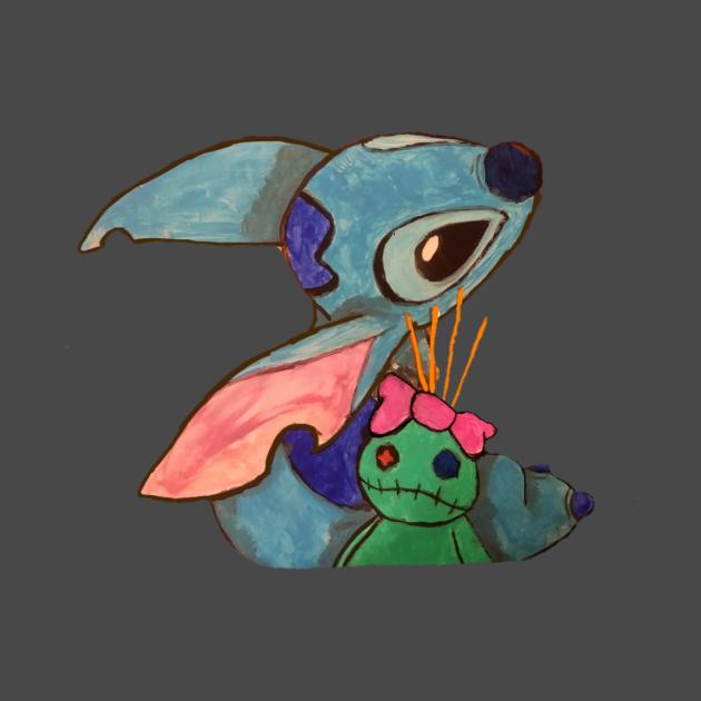 TeePublic: Stitch