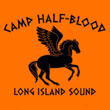 Textual Tees: Camp Half-Blood Long Island Sound