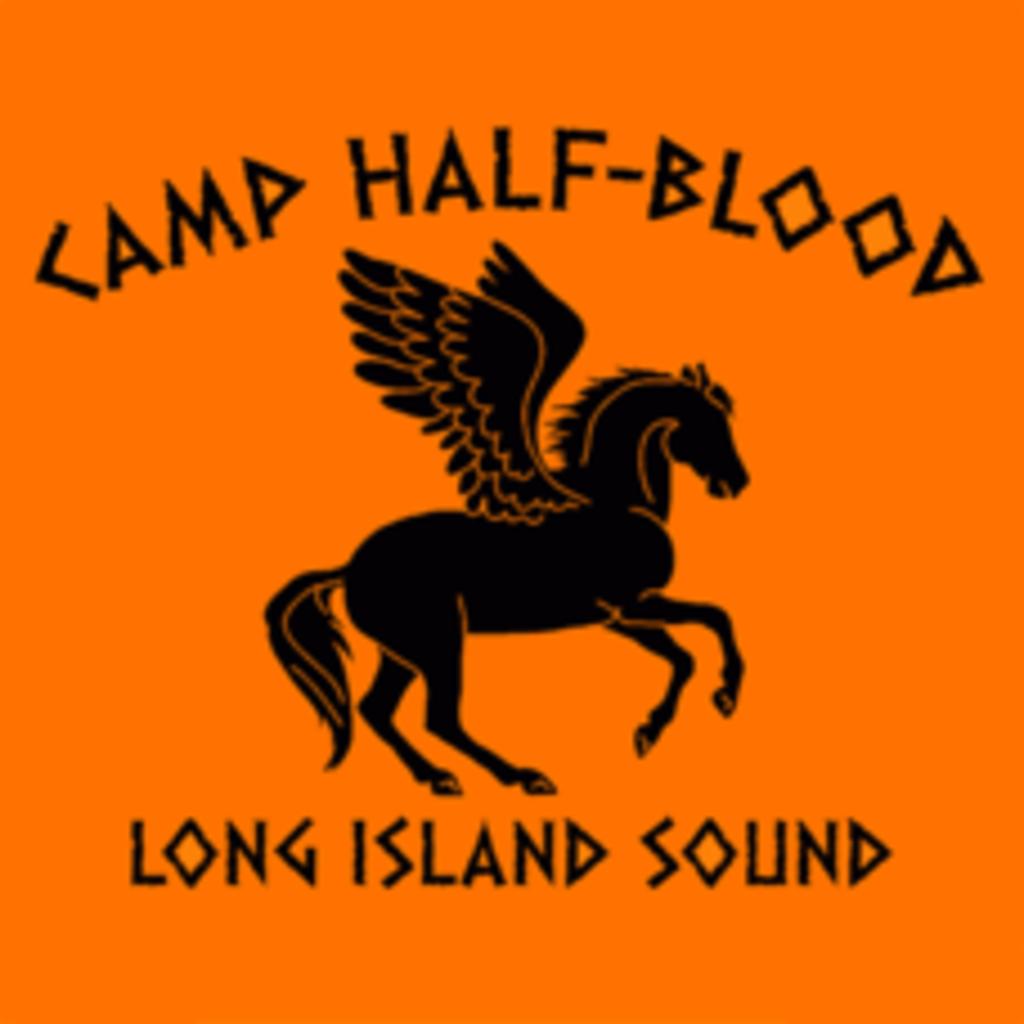 Textual Tees: Camp Half-Blood Long Island Sound