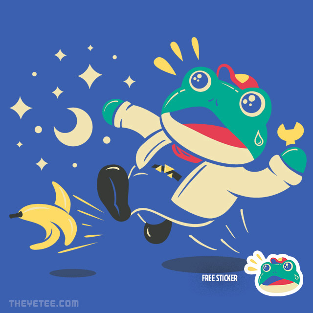 The Yetee: Slipping Toad