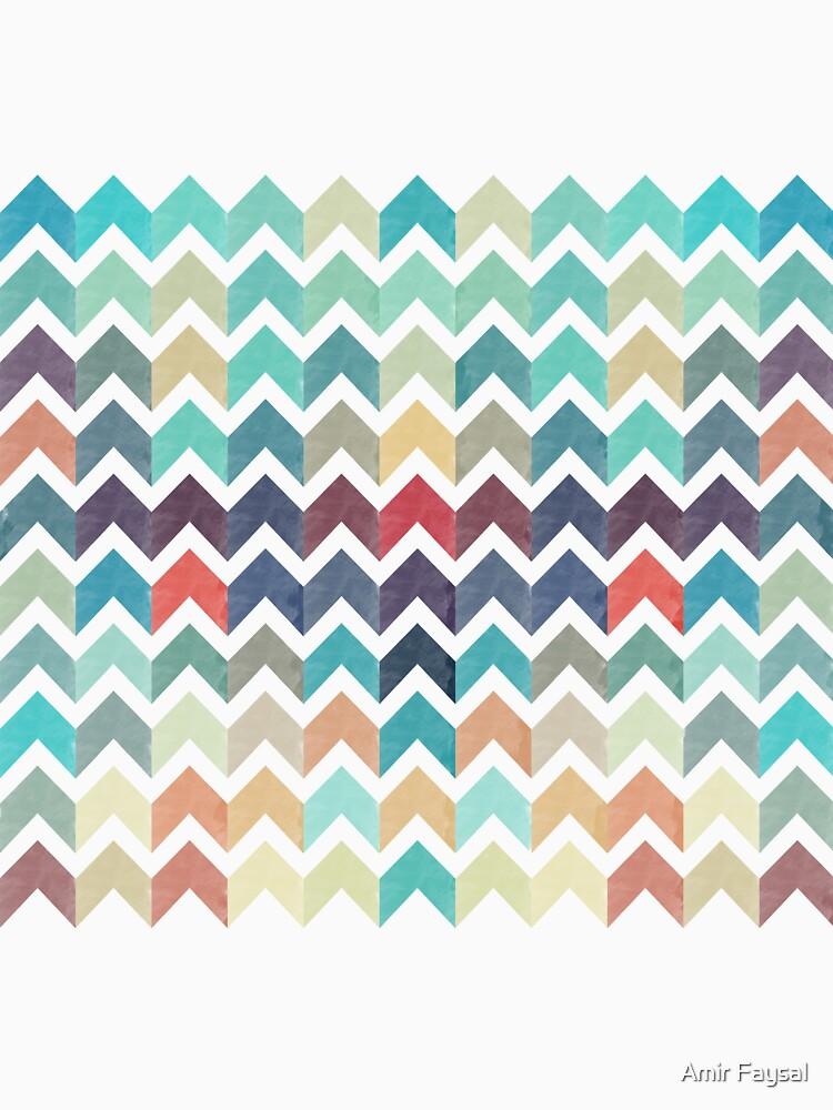 RedBubble: Watercolor Chevron Pattern